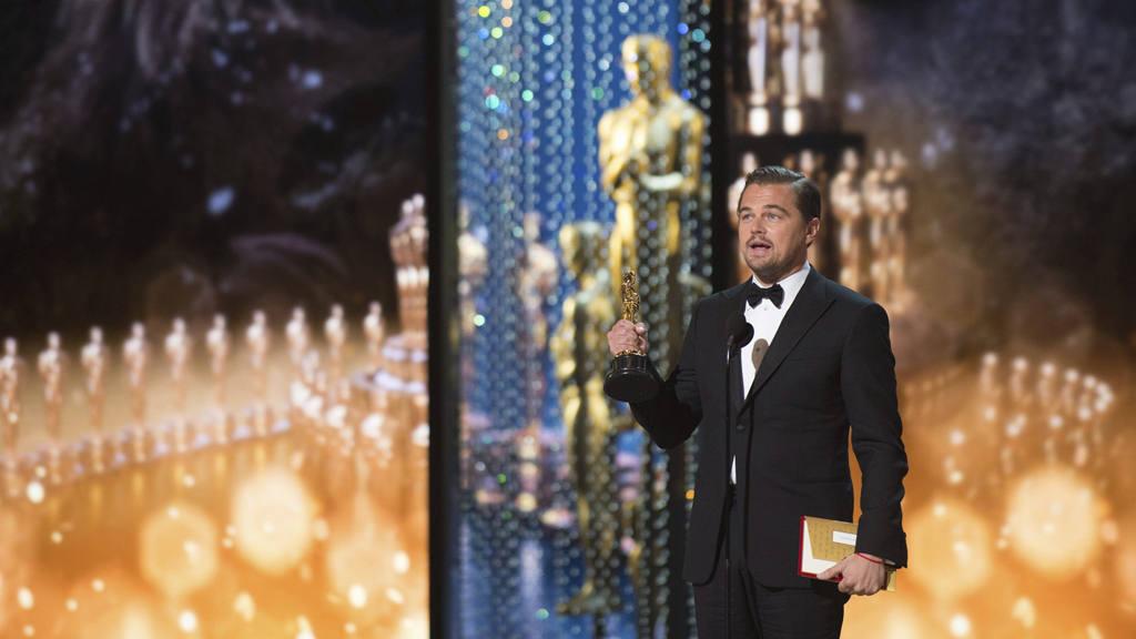 "Leonardo DiCaprio, ?scar al mejor actor por ""The Revenant"""