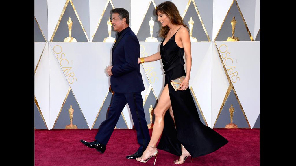 10 imágenes de las parejas famosas de los Oscar 2016