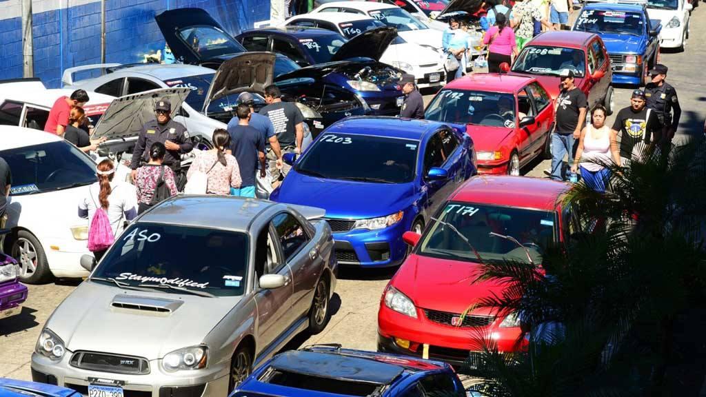 Exposición De Carros Modificados En Antiguo Cuscatlán Elsalvadorcom