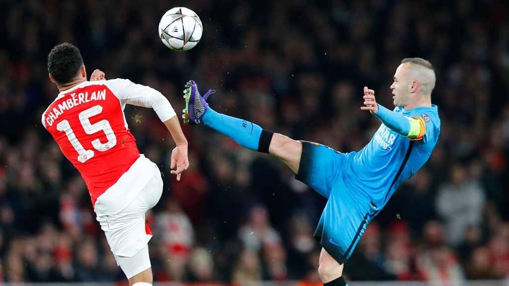 Arsenal's Alex Oxlade-Chamberlain