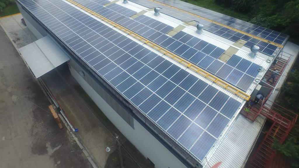Planta solar Alimentos MOR