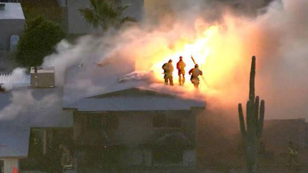 Tiroteo con incendio en Phoenix