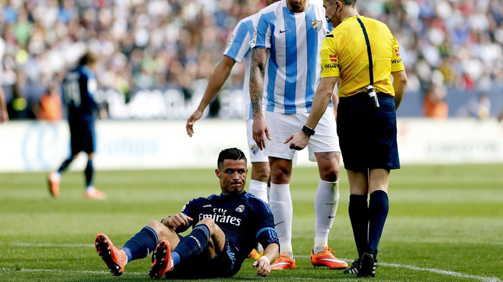 Real Madrid igualó 1-1 ante Málaga y se aleja del liderato