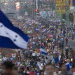 Hondureños piden cese a la corrupción