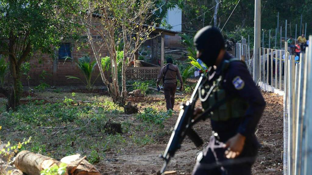 Quíntuple homicidio en Jucuarán