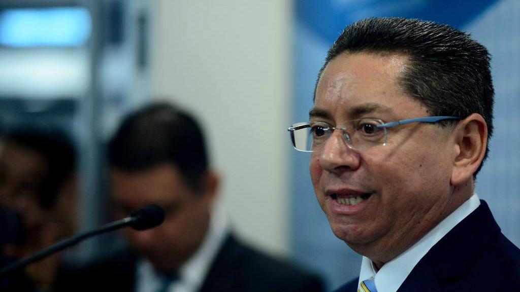 Fiscal general, Douglas Meléndez