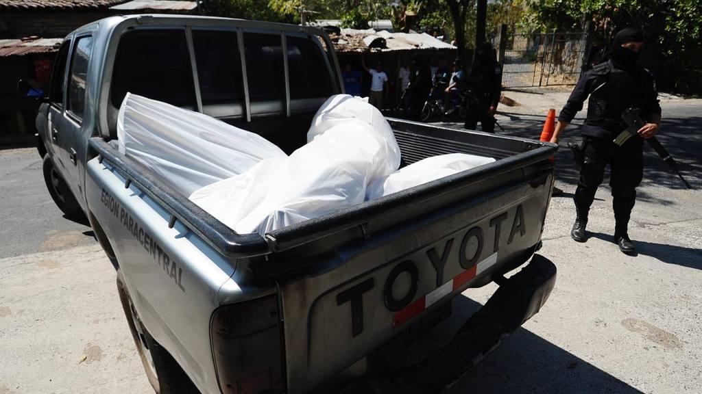 Tres pandilleros murieron en un enfrentamiento armado en Santiago Nonualco.
