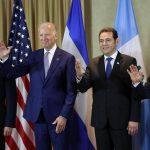 JOE BIDEN LLEGA A GUATEMALA PARA INVESTIDURA DE PRESIDENTE JIMMY MORALES