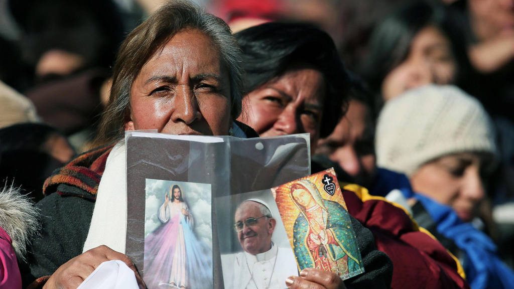 Pope Francis in Mexico City