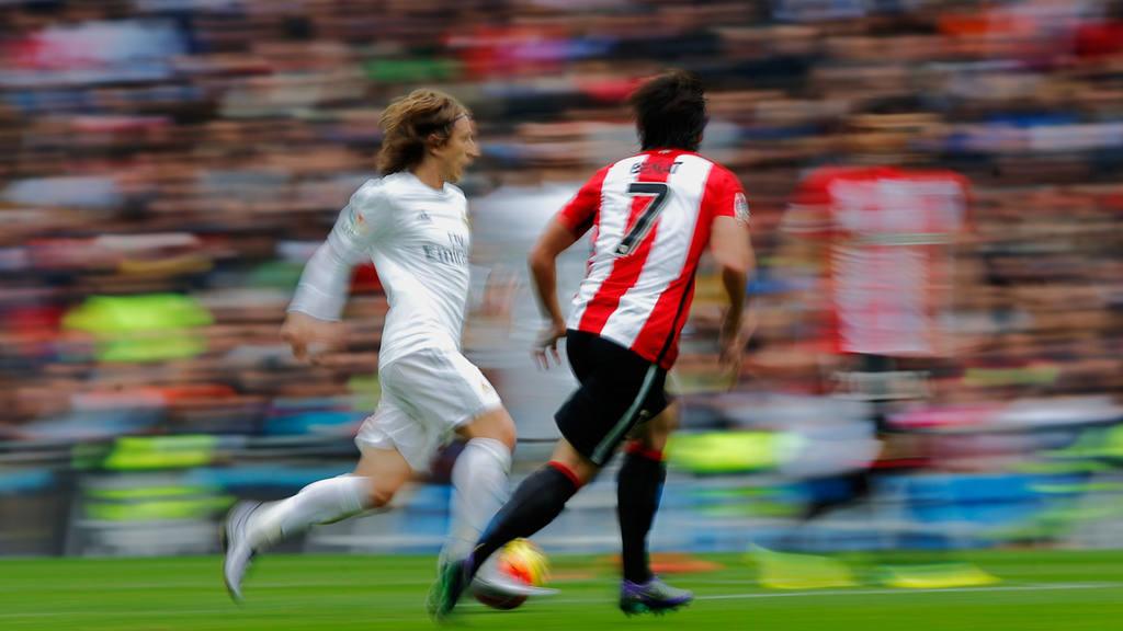 Real Madrid's Luka Modric