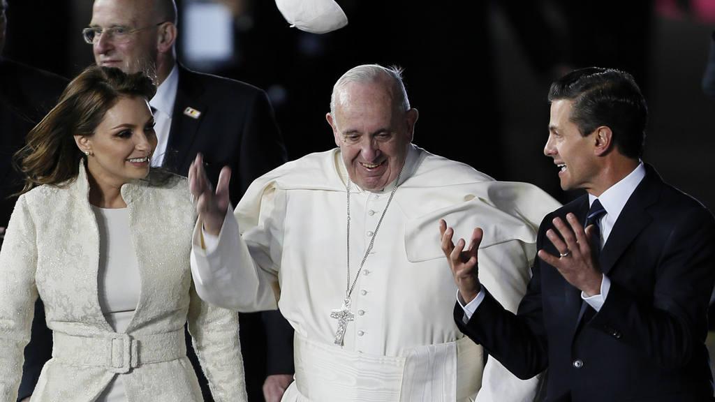 Papa Francisco llega a MÈxico