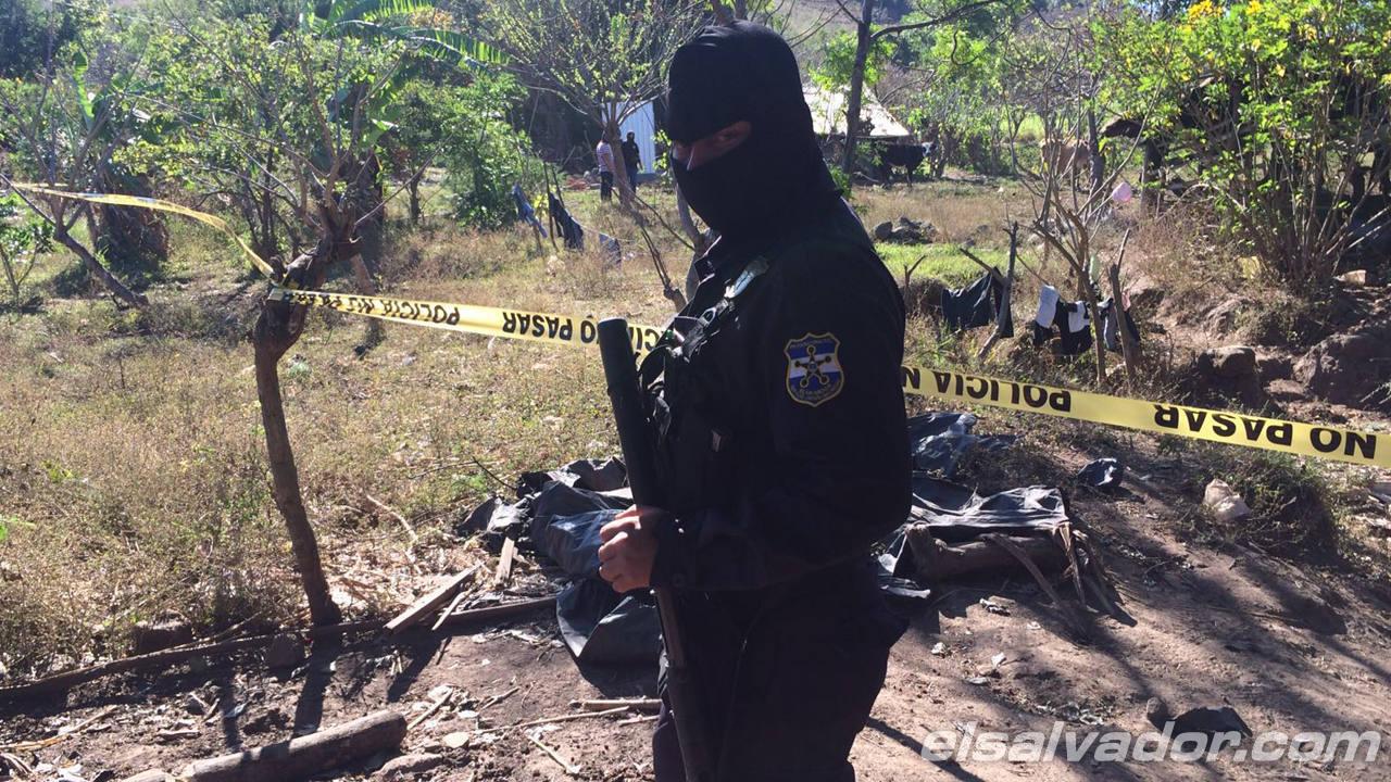 Cinco pandilleros muertos tras enfrentamiento con policías en San Vicente.