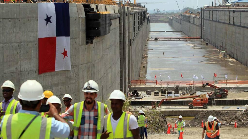AMPLIACI?N DEL CANAL DE PANAM¡ ENTRA EN FASE FINAL TRAS LLENADO DE ESCLUSAS