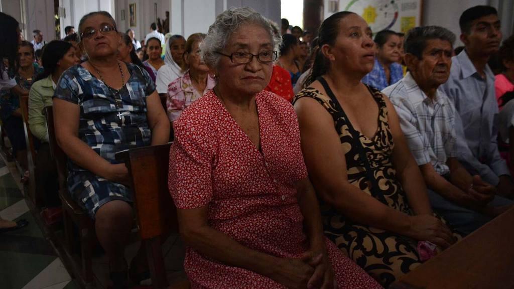 Misa en honor a Candelaria
