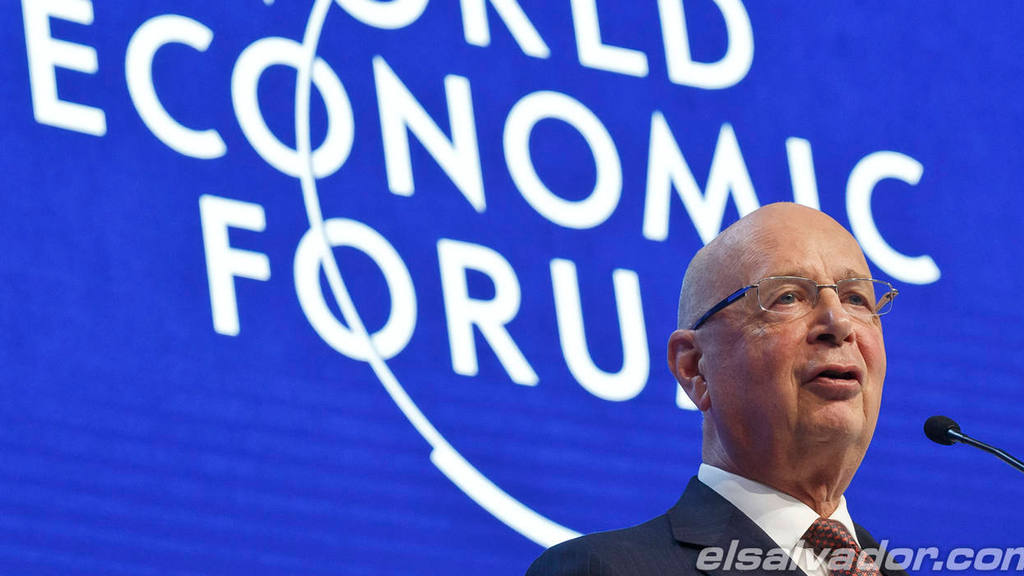 President and Founder of the World Economic Forum Klaus Schwab speaks