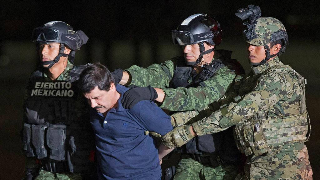 Capturan al Chapo Guzmán