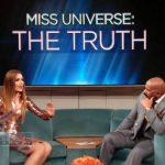 Steve Harvey llora mientras pide disculpas a Miss Colombia