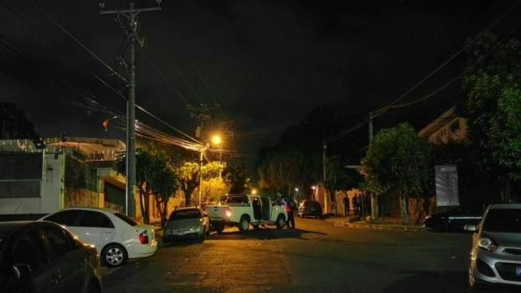 Ataque en San Salvador