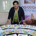 Darlyn Meza, de la editorial Nosotros Ediciones,