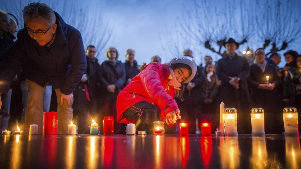 En honor a las víctimas