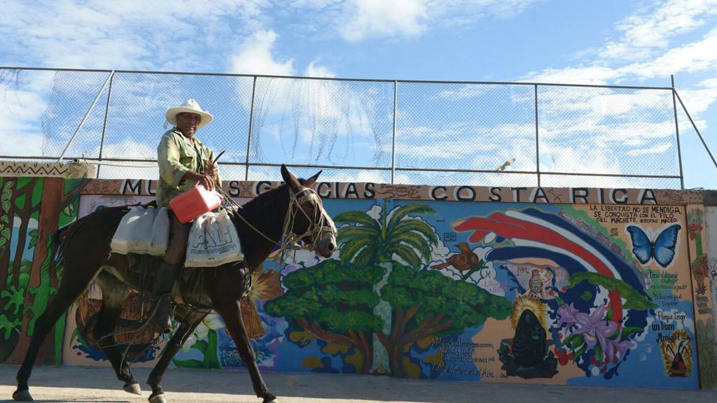 Cubanos refugiados en Costa Rica.