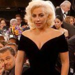 La reacción de Leonardo DiCaprio ante Lady Gaga