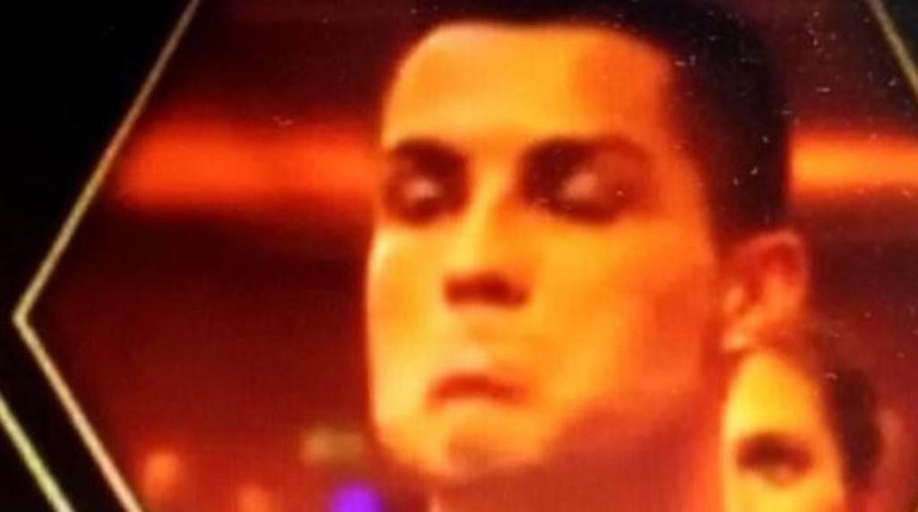 Mueca de Cristiano Ronaldo