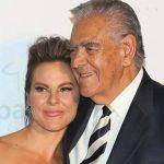 Kate del Castillo junto a su padre