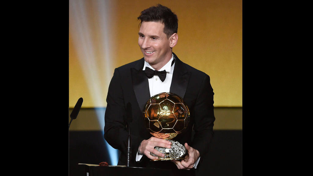 Messi gana su quinto Balón de Oro