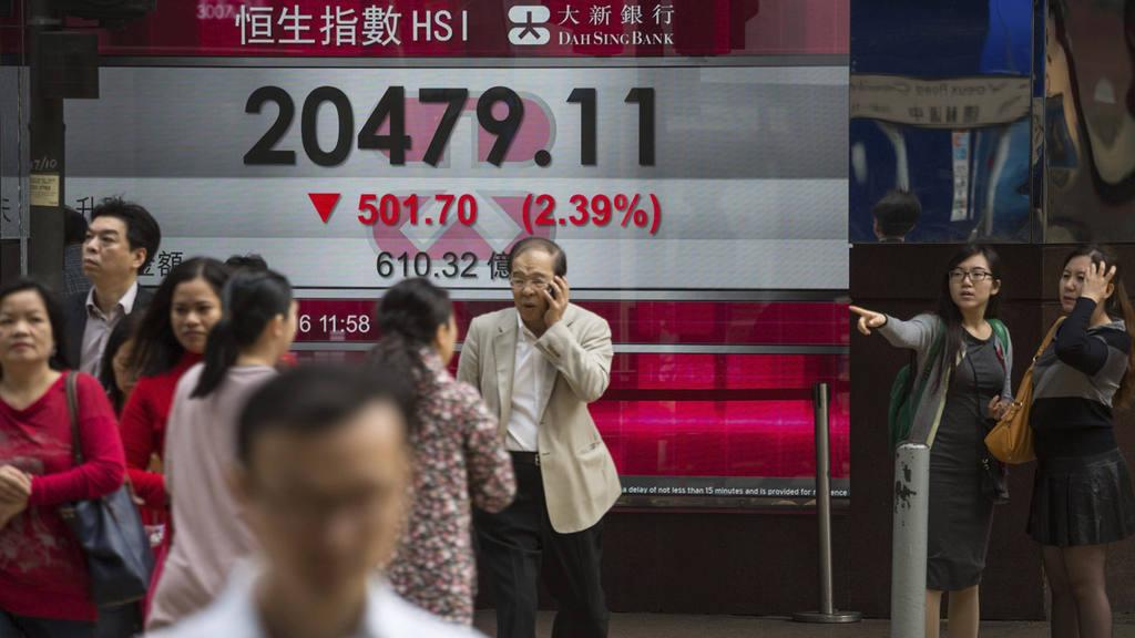 El Hang Seng cae un 2,39 % a media sesiÛn