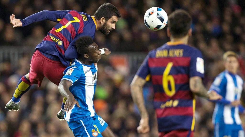 Barcelona derrotó al Espanyol