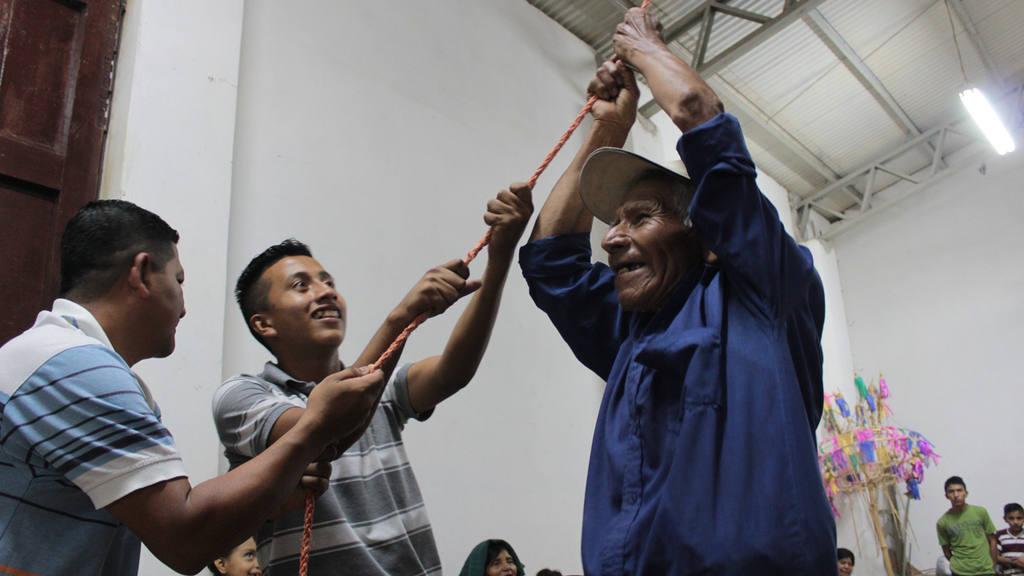 La fiesta de las palancas en Panchimalco