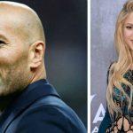 La foto viral de Shakira y Zidane