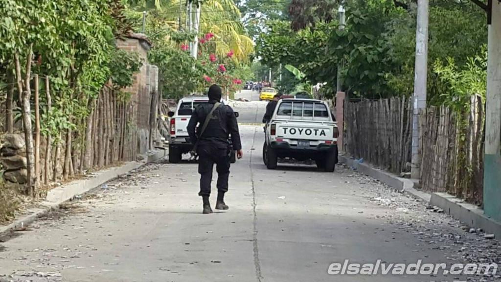 Enfrentamiento entre policías y pandilleros