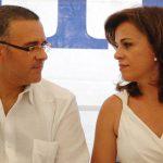 Mauricio Funes y Vanda Pignato