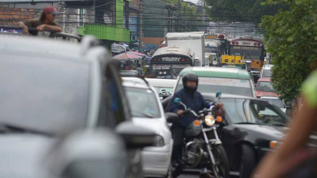Congestionamiento centro