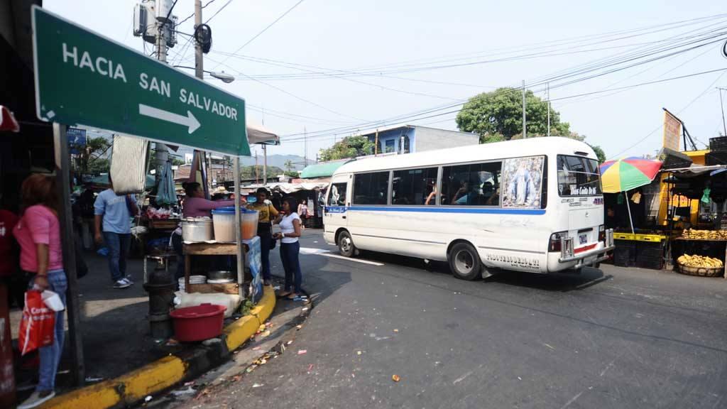 Cambio de rutas del transporte en Soyapango
