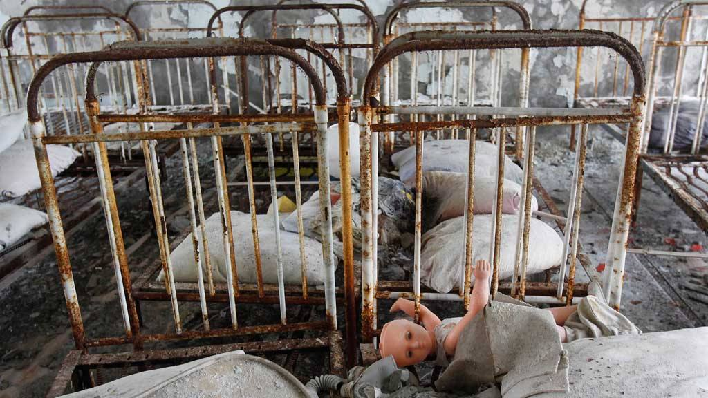 File photo to accompany the 25th anniversary of the Chernobyl nuclear disaster
