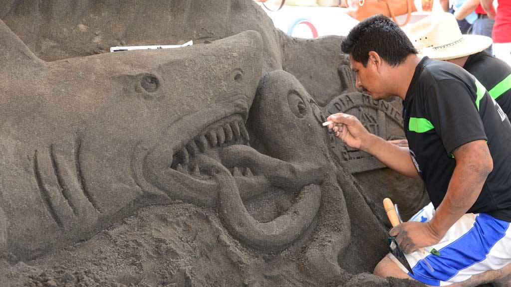 Derroche de creatividad en el tercer Festival de Arena, organizado por el Museo de los Niños, Tín Marín