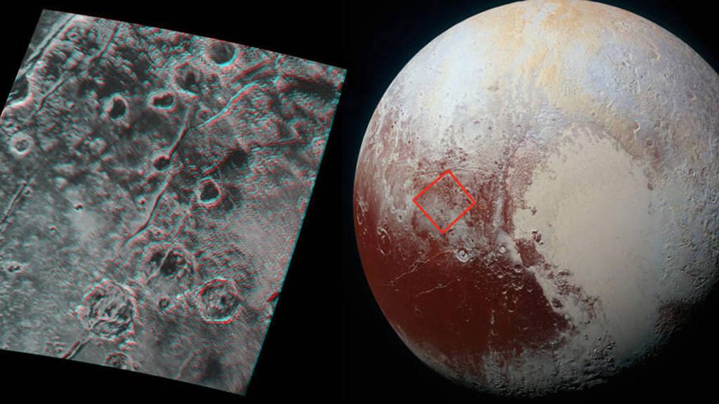 10 imágenes impresionantes del planeta Plutón