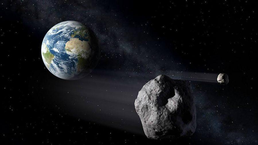 Asteroide del tamaño de un autobús