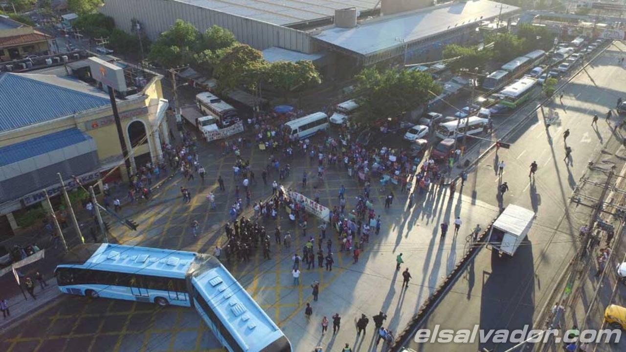Protesta Soyapango