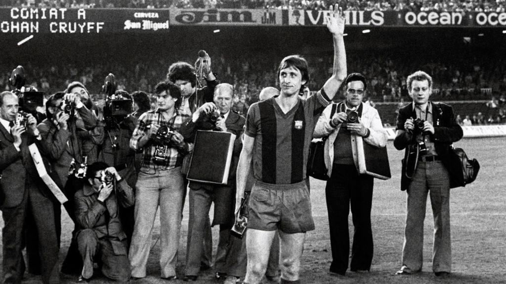 Fotografía de archivo  del exfutbolista holandés Johan Cruyff, (Barcelona, 27/05/1978).