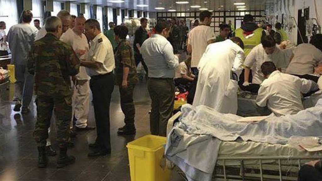 34 muertos y 200 heridos en atentados en Bruselas