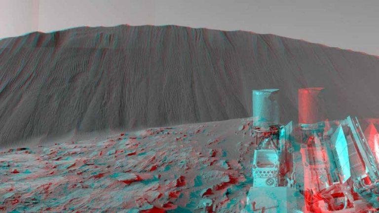 Planeta Marte misión espacial NASA.