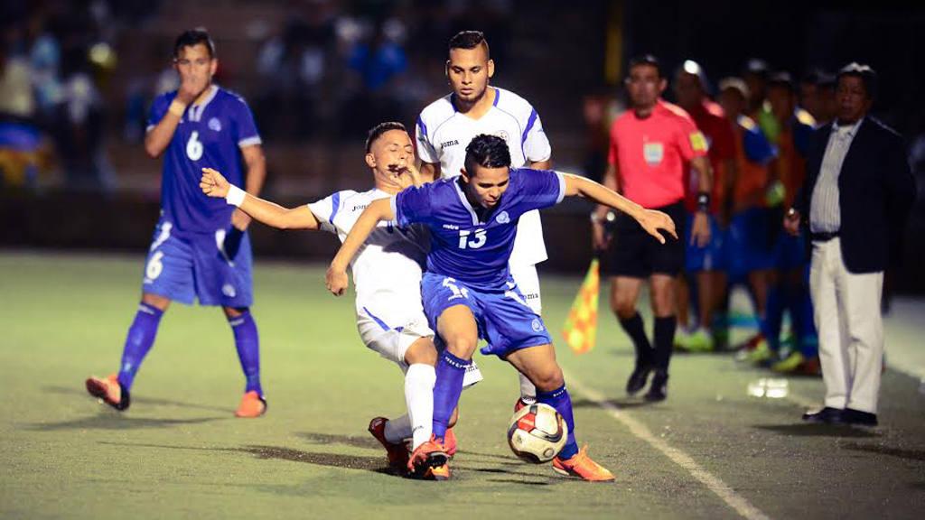 El Salvador Nicaragua partido amistoso.