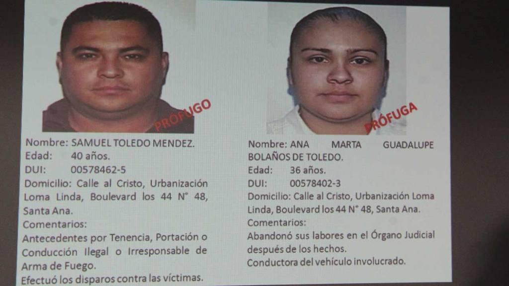 Secuencia del asesinato de Alfredo Pacheco ex jugador de la Selección Nacional y el FAS.