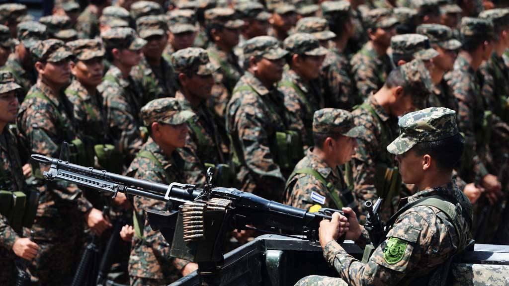 400 reservistas del Ejército apoyarán a la PNC en el centro de San Salvador