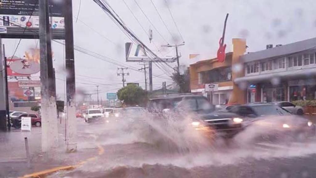 Lluvias, tormenta San Salvador