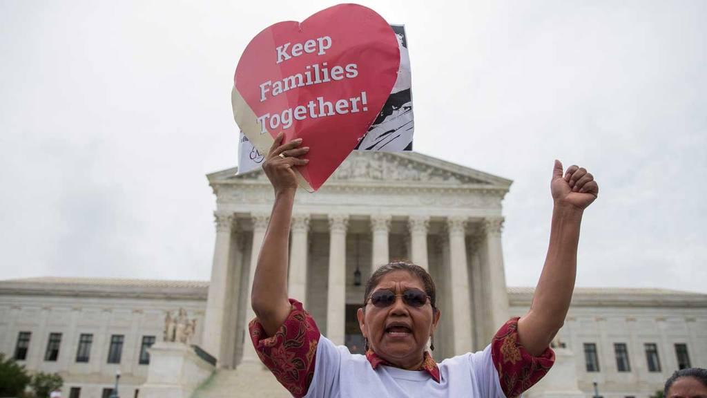 Protesta inmigración